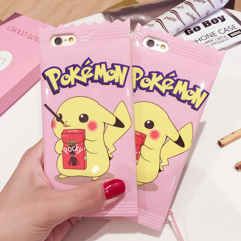 Fashion 3d Cartoon fun Candy Toy Doll Creatives Soft Silicone Cell Phone Case Cover skin for iphone7 7 Plus 6 6s Plus 8 8plus
