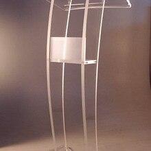 Прозрачная акриловая церковная кафедра Podiums Design/Lectern/Rostrum/PMMA Pulipit