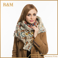 za women winter scarfs 2016  Paisley Cashmere Scarves New Designer Acrylic Basic Shawls Women's Scarves Big Size