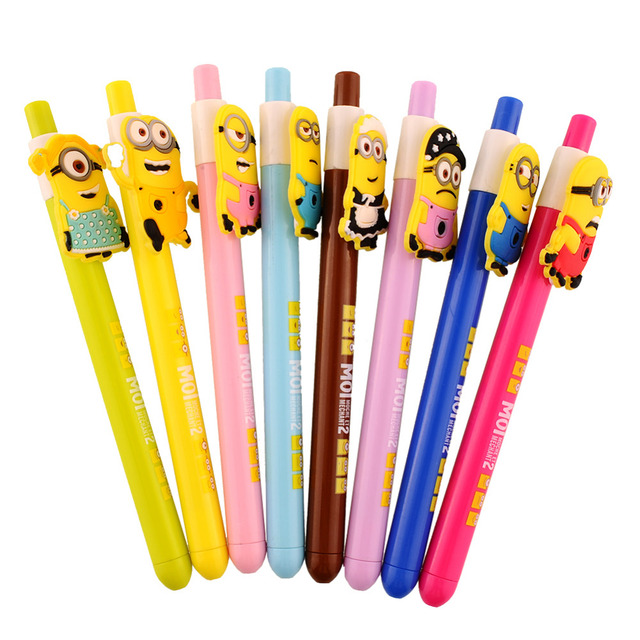 Funny Despicable Me Minions Ballpoint Pen For Kids