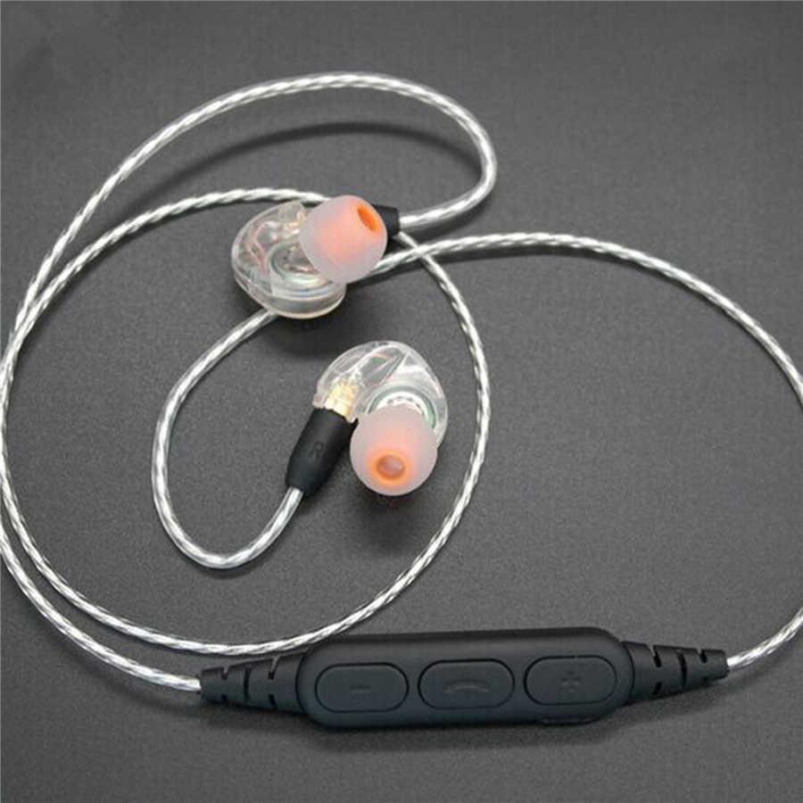 XBERSTRA aktualizacji kabel do Shure SE535 SE215 SE425 SE846 do MMCX złącze słuchawki Bluetooth bezprzewodowy odbiornik Adapter
