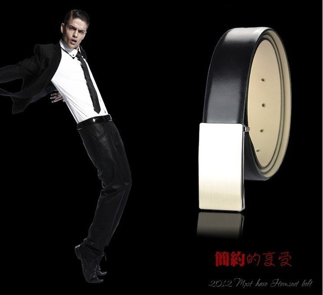 Manufacturers spot board buckle man fashion belts wholesale belt leather belt freight from men  10pcs