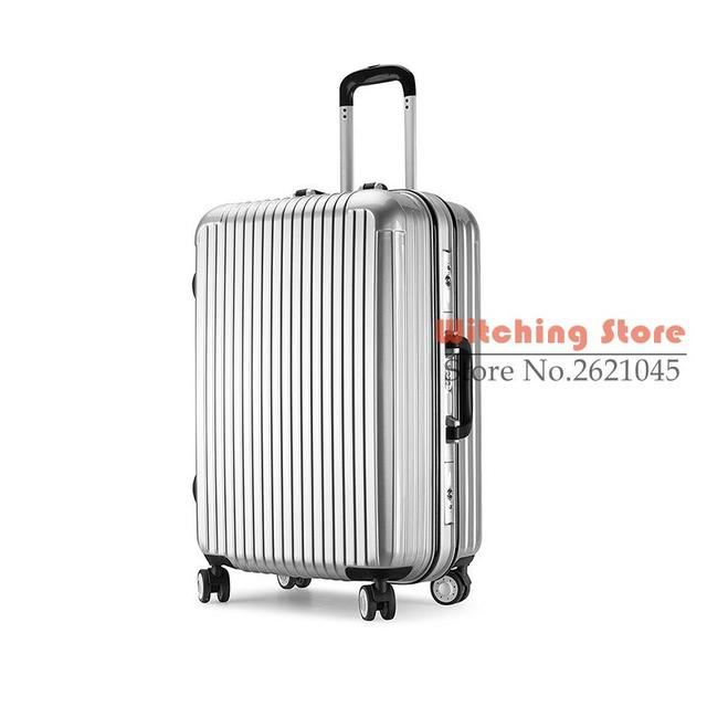 16 INCH  16202824# r of aluminum box travel box, universal wheel, 20 24 , #EC FREE SHIPPING