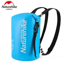 Naturehike 10L 15L 25L Waterproof Bag PVC Dry Bags Beach Outdoor Camping Hiking Sports Drifting River Trekking Swimming