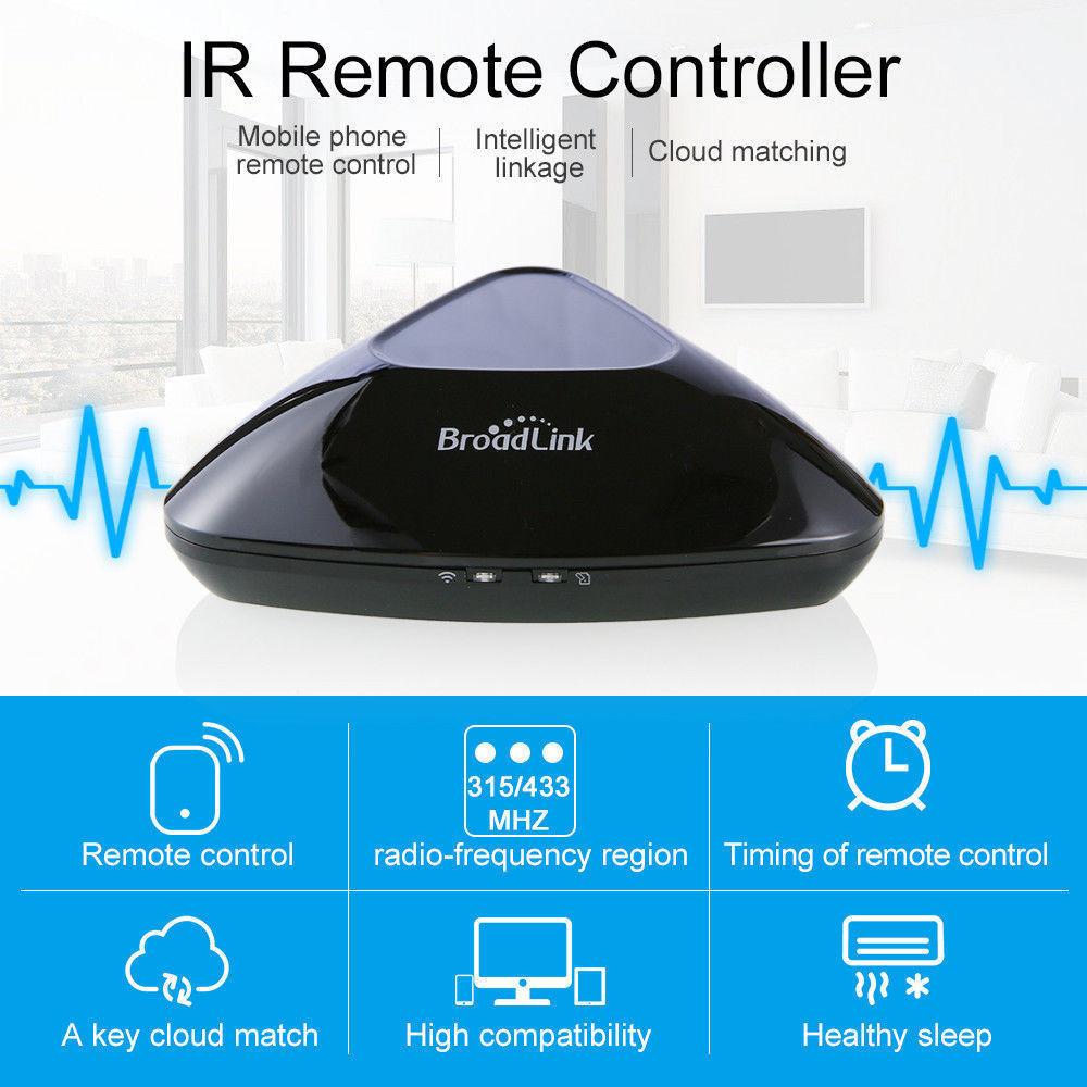 Broadlink Smart Home RM Pro WiFi+IR+RF Remote Control SC1