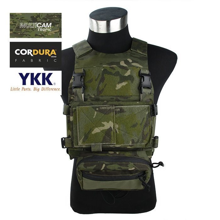 TMC Ferro Style FCSK Plate Carrier SS Front Chassis Set Multicam Tropic(SKU051268)