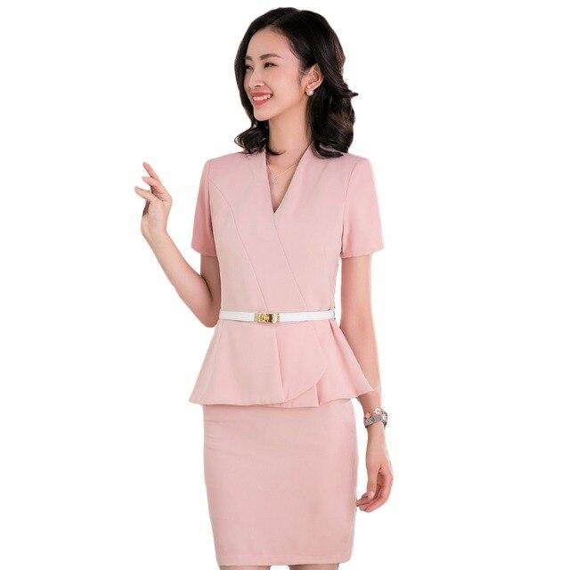 Aliexpress Com Buy 2018 Short Sleeve Spring Summer Women Skirt