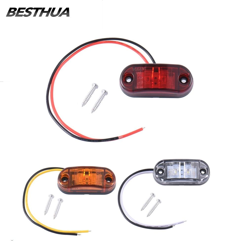 2шт Piranha LED боковий маркер блимання - Автомобільні фари