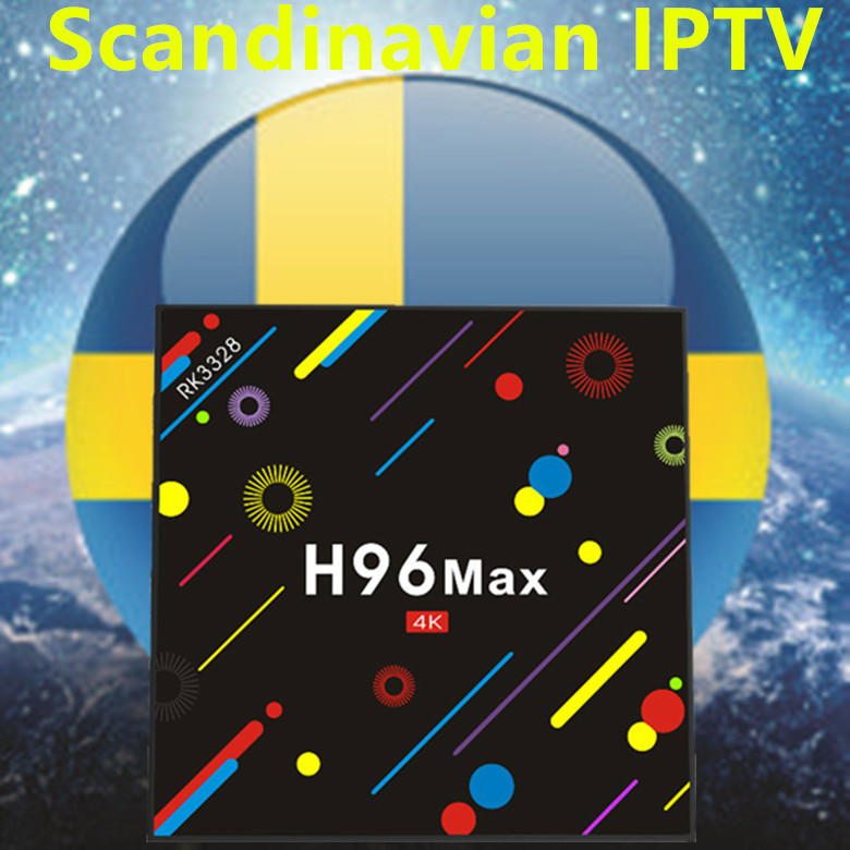 2018 New H96 MAX Android 7.1 TV BOX 4/32G With Europe/Sweden/French/Germany/Italy/XXX 4000+ Scandinavian channels set top box 2017 new arrival esuntv free iptv android tv box 2 16g europe sweden french germany italy xxx 4000 scandinavian channels