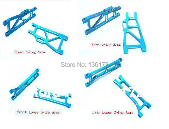 henglong  HL3851-2 1:10 R/C Mad truck  Aluminum Upgrade Part  Arms 8pcs/set  free shipping
