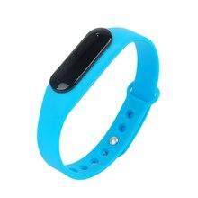 Смарт Спорт браслет Bluetooth браслет умные фитнес-часы здорового силиконовый браслет шагомер Sleep Monitor для IOS Android