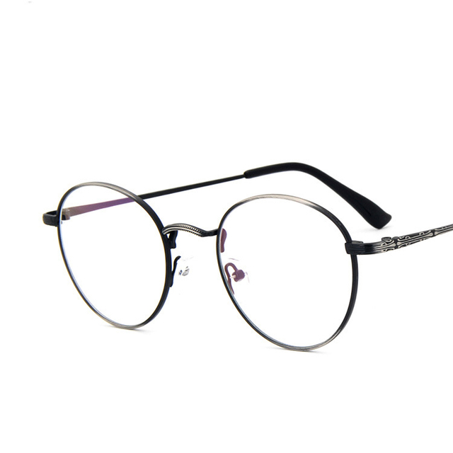 0dd8804921f0 Round Curved Bridge Thin Vintage Retro Metal Full Rim Optical Prescription EYEGLASSES  FRAMES Men Women Glasses 2991 RX Spectacle