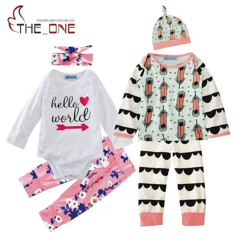 Baby Casual Rompers Sets Toddler Boys Girls Cotton Reindeer Arrow font b Bodysuit b font Pants