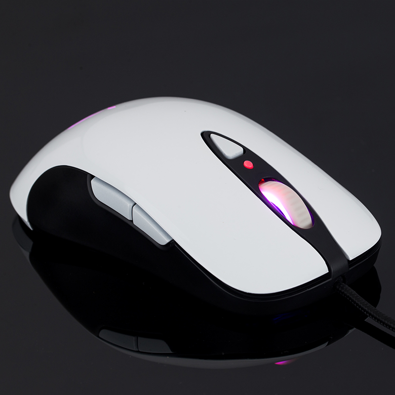 The wielder color mouse MG2 computer laser game mouse mechanical drive macro programming LOL CF cable