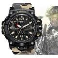 Mode Super Cool Männer Militäruhr Stunden Camouflage Gurt Mens Wasserdichte Stop Armbanduhren Sport beiläufige LED Digitaluhr|watch sport|watch fwatch fashion -