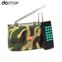 DOITOP Camouflage 500 M Afstandsbediening Outdoor Speaker Geluidsversterkers Onderwijs Tour Guide Luidspreker Suport FM Tf-kaart U Disk
