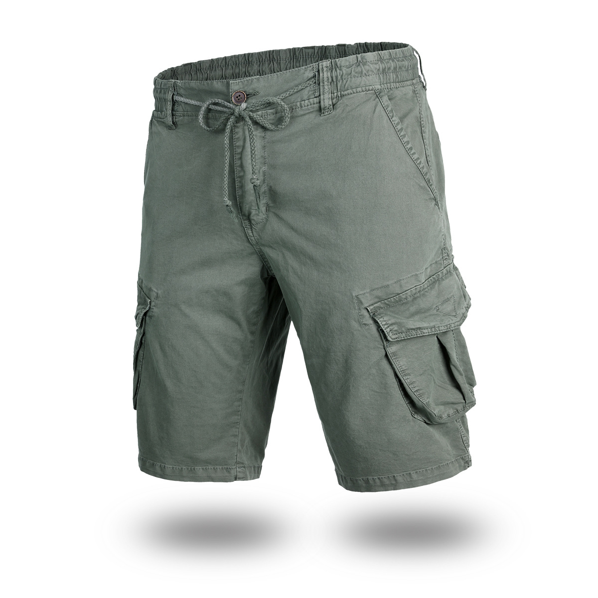 Cargo Shorts High Quality Outdoor Regular Straight Vintage Cross-Border Tooling Shorts Cargo Pants For Mens 17811