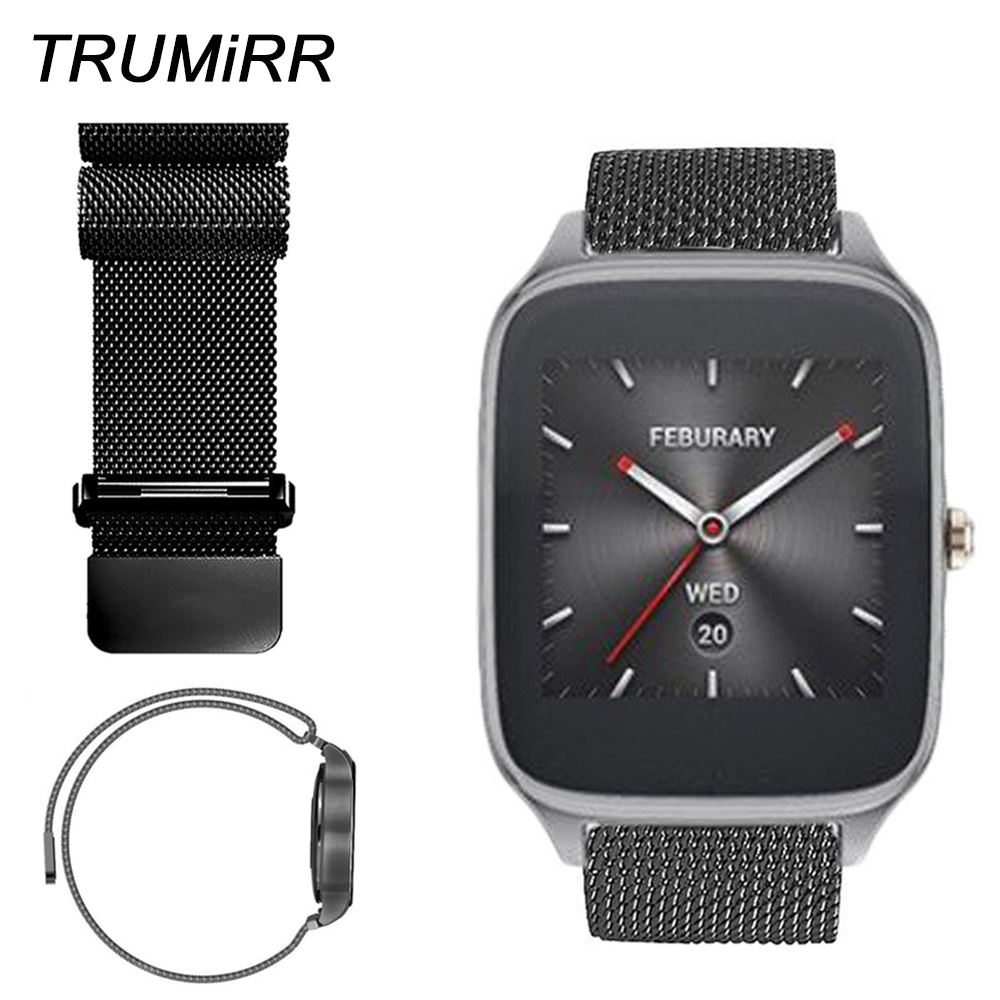 22mm Milanese Loop Band for ASUS Zenwatch 2 22mm LG G Watch W100/W110/W150 Pebble Time Stainless Steel Watch Bracelet Link Strap22mm Milanese Loop Band for ASUS Zenwatch 2 22mm LG G Watch W100/W110/W150 Pebble Time Stainless Steel Watch Bracelet Link Strap