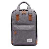 Bookbag Stylish Canvas Schoolbag Backpack Travel Daypack Lightweight Rucksack School Bags for Teenagers Girls Mochila