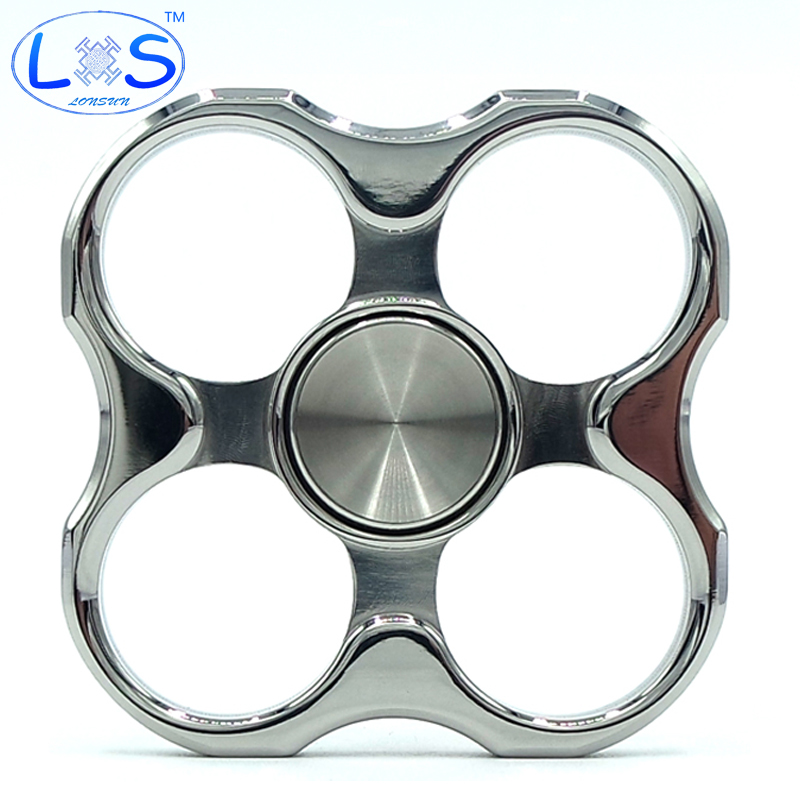 2017 New Action Hand Spinner Funny Toy Metal EDC Spinner Fidget For Autism ADHD Anti Stress Kid Gift