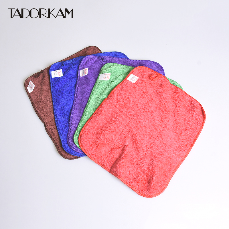 Cleaning Cloths Double Layer Home Kitchen Hygiene Supplies Beach Towel Water-absorbent Bathroom Towels Multifunction Mops Towels