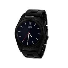 SIM TF Edelstahl Touch Smartwatch Bluetooth 3,0 Pulsmesser Temperaturüberwachung Schrittzähler PSG Smart Watch Phone