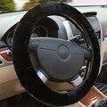 Winter Fur Steering Wheel Car Steering Wheel Cover Premium Soft Short Fur Steering-wheel Covers Universal Interior Accessories