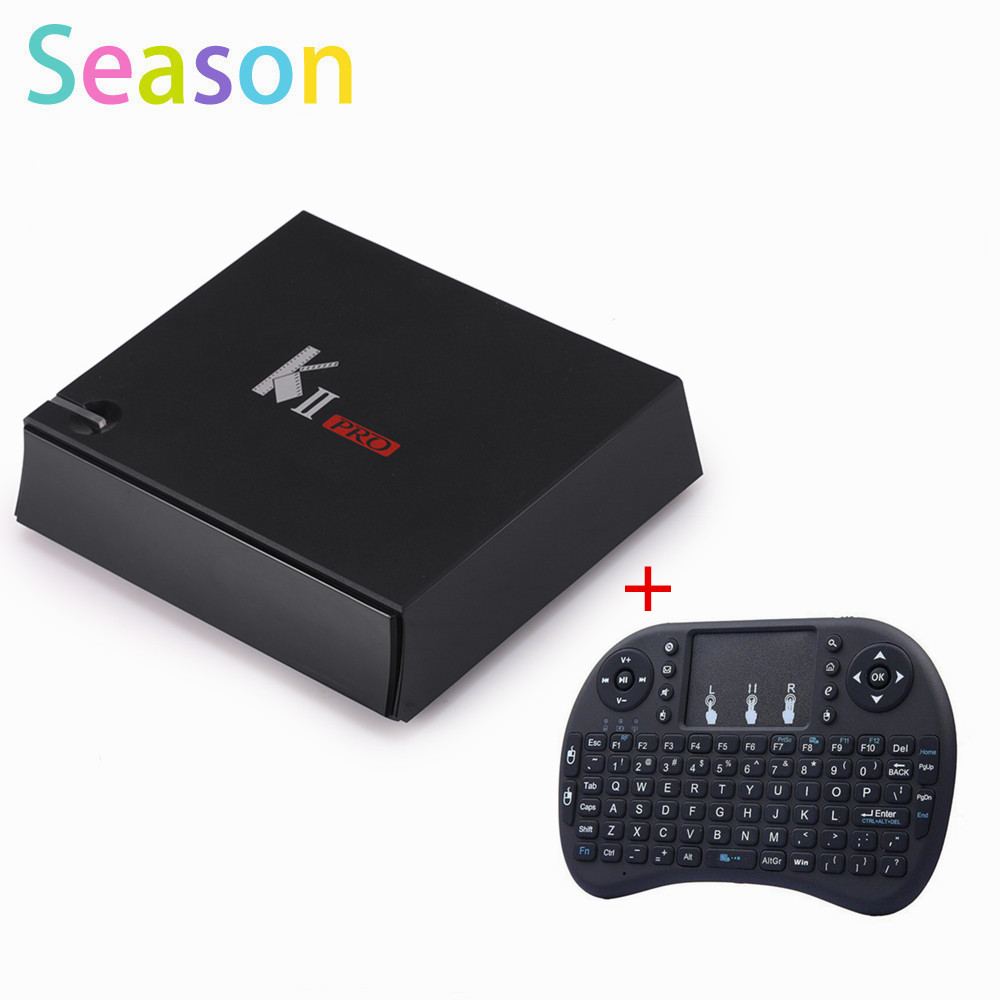 KII Pro 2G 16G TV Box Android 5.1 Amlogic S905 Quad-core 4K*2K 2.4G&5G Wifi Bluetooth 4.0 Androidtvbox mxiii pro android amlogic s812 quad core 2g 8g 5g wifi tv box
