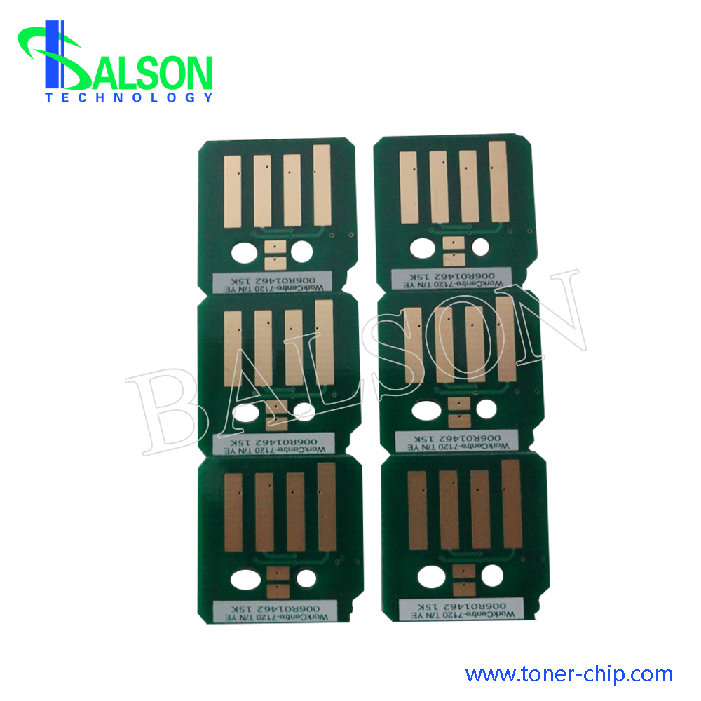 High quality compatible 006r01453 black cartridge reset chip for xerox workcentre 7120 7125 7220 7225 metered chips