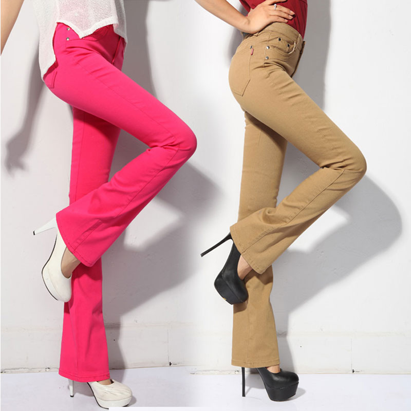 Popular Flare Colored Jeans-Buy Cheap Flare Colored Jeans lots ...