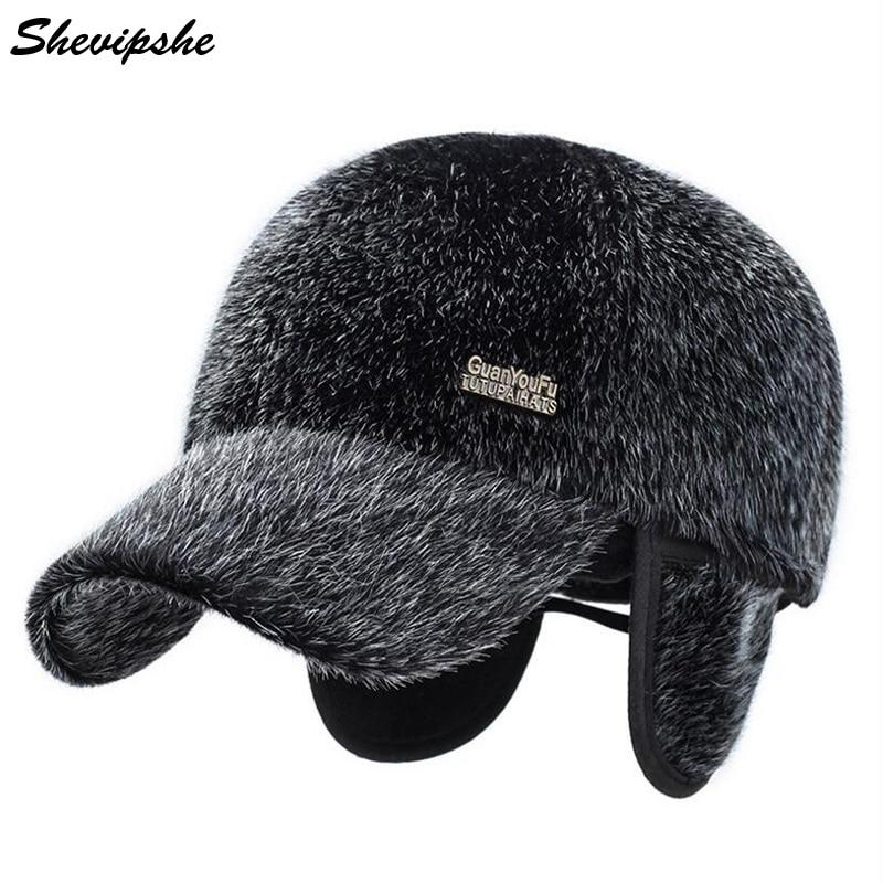 furry kangol baseball hat mens fur caps faux new font cap seal