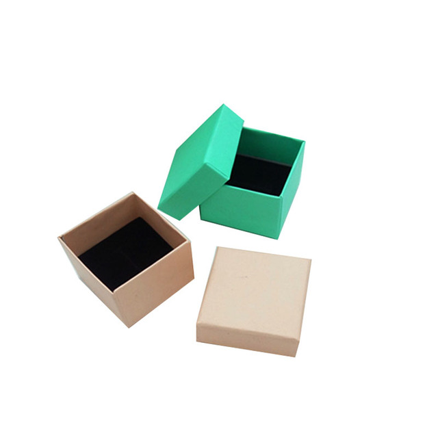 Box for Jewelry Wholesale Free Shipping 100pcslot Blue Pink Ring
