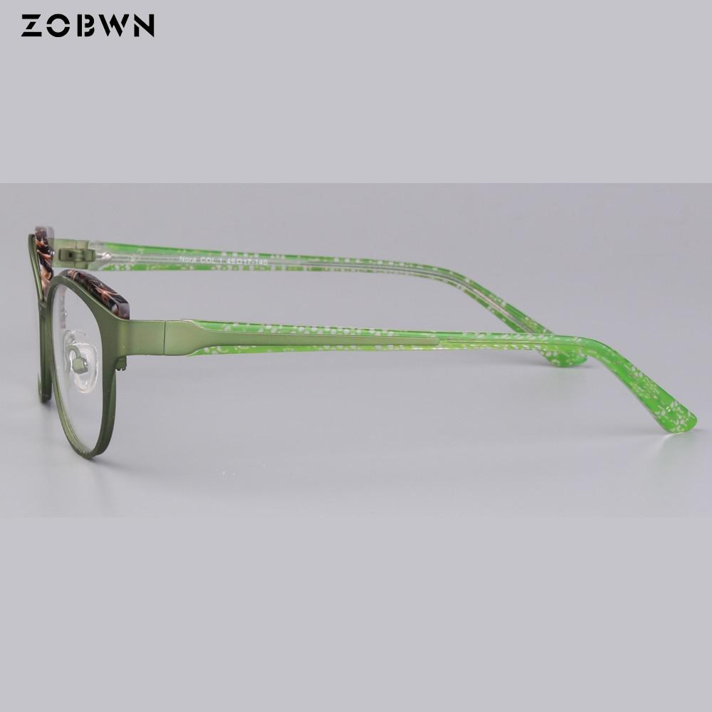 Schwarz Gläser Frauen Cat Eye Qualität Computer Brille Plain Halb Vintage Brillen Hohe Metall Großhandel Rand Rot Mix IwHBqCv