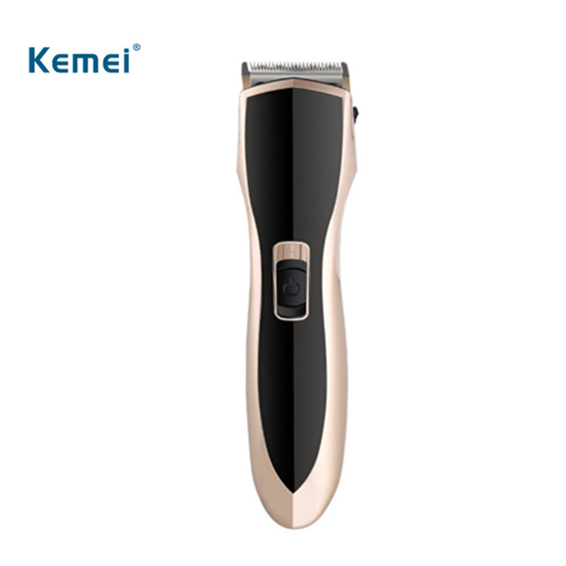 Kemei professional rechargeable advanced hair trimmer shaver razor high quality electric hair clippers cheap free shipping biaoya rechargeable hair clippers set 220 240v ac