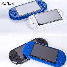 KaRue 8 ГБ 5,0 «Большой Экран портативных игровых консолей встроенный 900 + классические игры с MP3/кино Камера взрослых Vedio игровая приставка