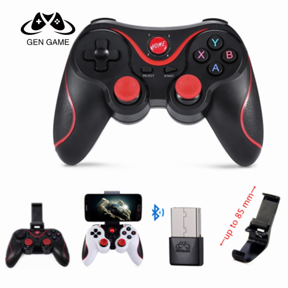Gen Game X3 Game Controller Smart Wireless Joystick Bluetooth Android Gamepad Gaming Remote Control T3/S8 Phone PC Phone Tablet image