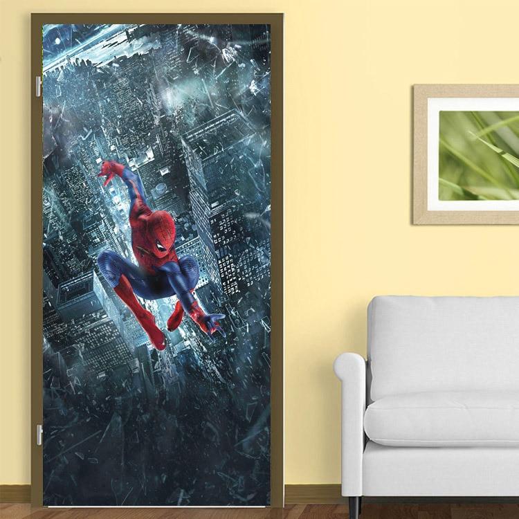 Amazing Super hero Wall Mural Spider man Photo Wallpaper Silk ...