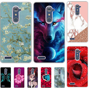Lovely Fashion Phone Case For ZTE Z max Pro Z981 For ZTE Blade X Max Z983 Grand X Max 2 Kirk Case Coconut Printed Back Cover