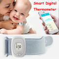 ISee Casa Inteligente Termômetro Digital inteligente pulseira Bluetooth 4.0 Monitoramento Do Bebê Termômetros Digital iOS Android Universal