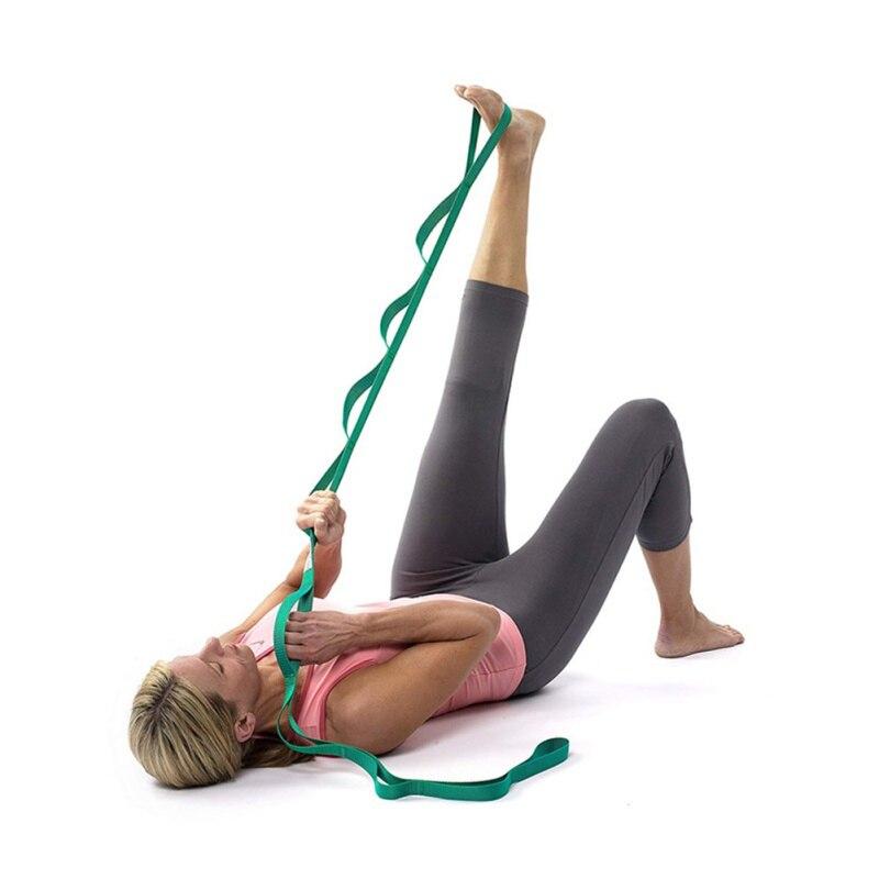 ✔  Тяговое сопротивление натяжению при помощи йоги 2 5 м. Гибкий пояс с 4 цветами. ✔