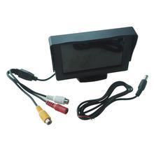 """TOILO 4.3 """"LCD CCTV Opinión Posterior del Revés del Monitor de La Cámara DVD Del Coche"""