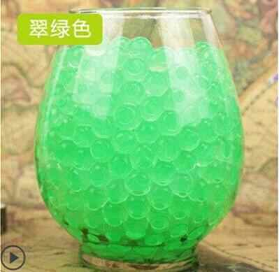 emerald 100pcs Large Hydrogel Pearl Shaped Big 2-3cm Crystal Soil Water Beads Mud Grow Ball Wedding bonsai plant Growing Bulbs