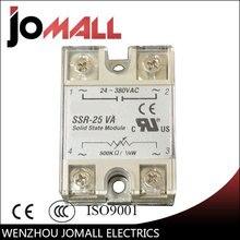 цена на SSR -25VA VR To AC 25A white color Solid State Voltage Regulator SSVR