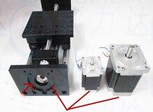 Высокая точность GX155 * 150 ballscrew 1610 400 мм путешествия линейная Руководство + NEMA 23 шаговый двигатель с ЧПУ этап Линейный движения moulde Линейный
