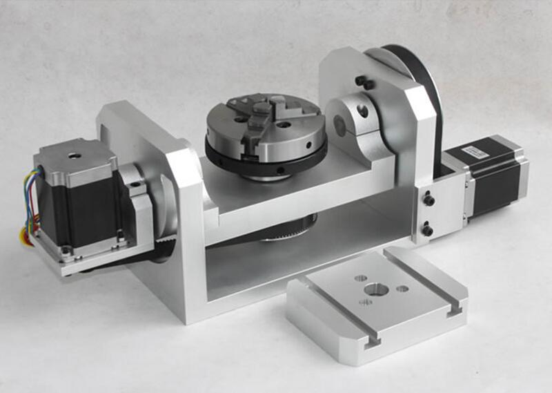 4th Axis Rotary Table For Cnc Milling Machine