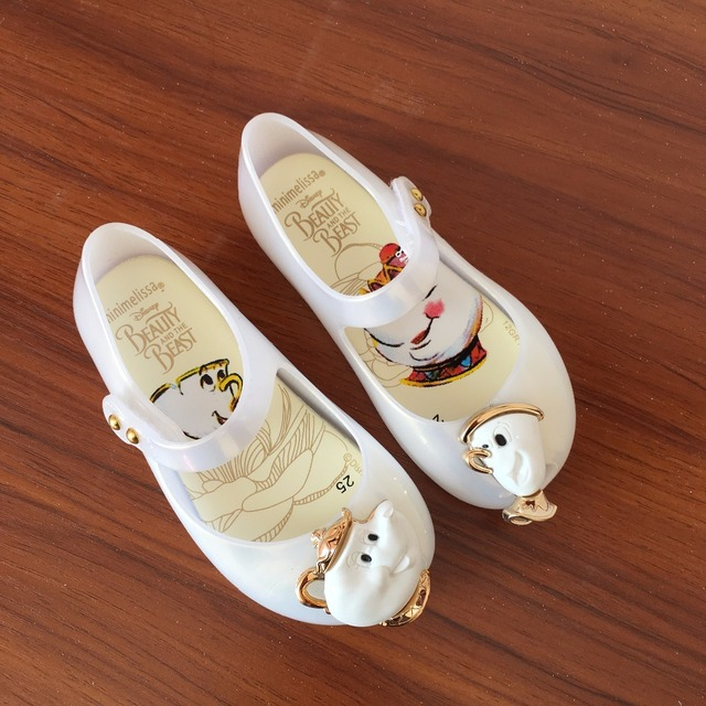76be25f83791 Stock wholesale fashion baby girl mini Melissa sandals children kids girls  teapot jelly shoes for little girls 1-8Y