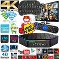 T95Z Плюс Android 6.0 tv box Amlogic S912 Octa Ядро 2 г 16 г iptv Dual WiFi 1000 М Gigabit Smart TV Box 3D 4 К media player PK X96