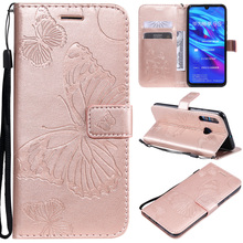 PU Leather Flip Case For Huawei P Smat Plus 2019 P30 20 10 Lite Pro Book Wallet Bag P9 P8 Mini 2017 Cover Coque