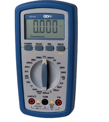 100% Digital Multimeter VC104 All Ranges Protection High Accuracy Self-Restoring Digital Multimeter  цены