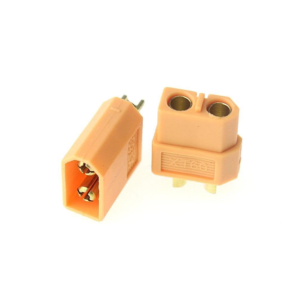 10Pcs XT60 XT-60 Male Female Bullet Connectors Plugs For RC Lipo Battery (5 pair) Wholesale 75ohm coaxial female connectors plugs 5 pcs